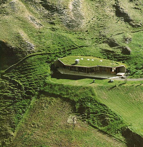 Gata house in Fludir, Iceland by architect Valdimar Harðarson