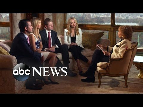 Donald Trump's Wife, Children Talk About His Campaign, Home Life - YouTube