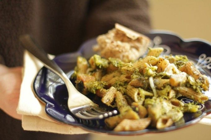 Pesto Broccoli Pasta Bake: Lighter, Healthier Casseroles