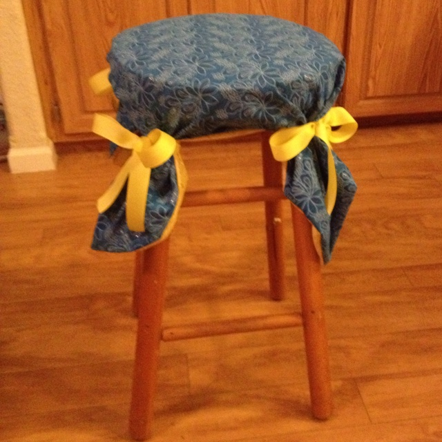 Bar stool cover. & Best 25+ Stool covers ideas on Pinterest | Make cover photo Bar ... islam-shia.org