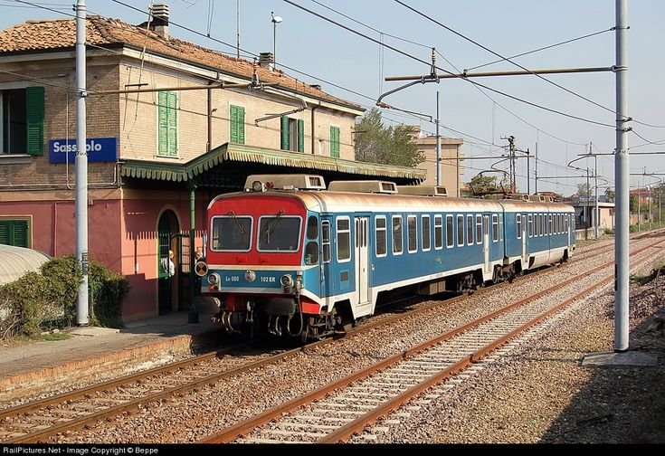 RailPictures.Net Photo: Le.088.102.ER FER Ferrovie Emilia Romagna Le.088 at Sassuolo, Italy by Beppe