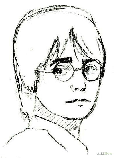 how to draw harry potter step by step - Google Search