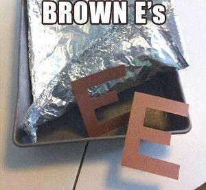 "brown ""E""s  April Fools Pranks for Kids"
