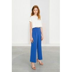 70's deep blue pants #deepblue #boho