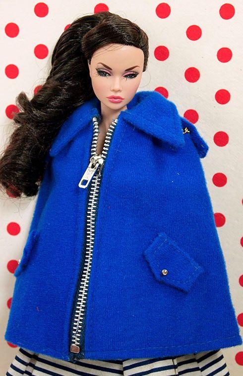 Barbie Hot Drama Zipper Cape  /   poppy parker/ does she look happy?