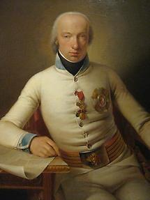 Ölbild 'Erzherzog Carl' von Johann Baptist Seele 1800
