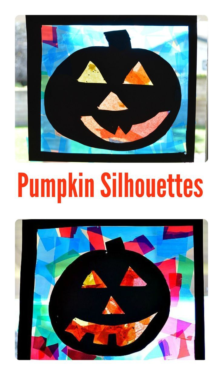 Gorgeous Halloween Craft for kids- GREAT window decor with simple craft supplies