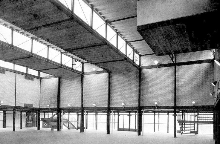 infiniteinterior:Alison & Peter Smithson, Hunstanton School, 1954