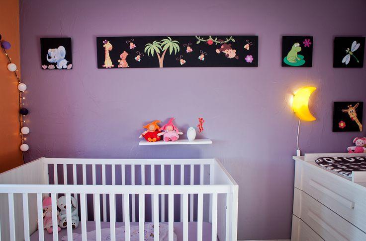 Chambre fille de 4 mois