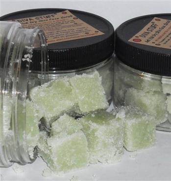 Sugar scrub for itchy skin