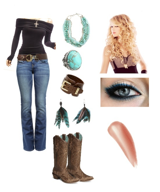 cowgirl style | Cowgirl style / Cute Country I'm not sure what the heck that thing to the right if the boots.....