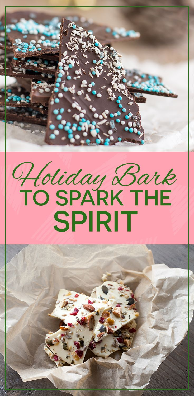 Holiday bark is sure to put a spark in any festive seasonal party or occasion! Check out some of the yummiest bark recipes the internet has to offer!