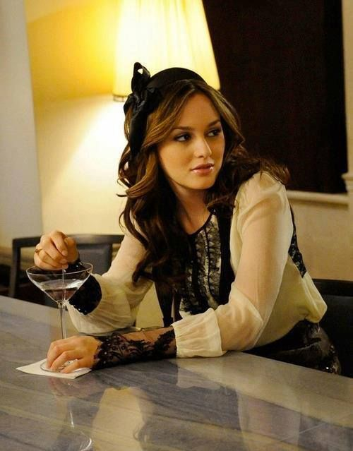 Blair Waldorf in Gossip Girl. I absolutely adore her style as well as her plethora of hair accessories! Inspired my Gossip Girl Collection of headbands.
