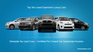 Top ten Latest expensive luxury cars  If you are searching for some of the 10 Best Luxury Car Brands that you can find within your budget, then you would find that this article would shed some excellent insight into helping you decide what you want to buy. Find below a list of the cars and their features so that you can make an informed decision.