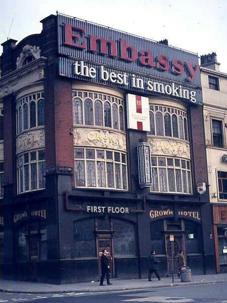 Crown Hotel Lime Street 1960s