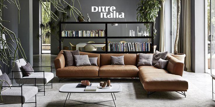 Lennox brings seduction to the world of interior design! Grazie al suo design audace il divano Lennox riesce sempre a sedurre!