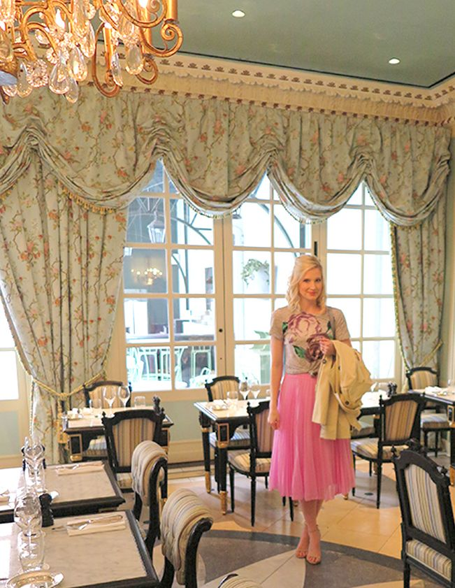 What to Eat, Drink, See, and Sleep, in New York City | Brunch at Laduree Soho