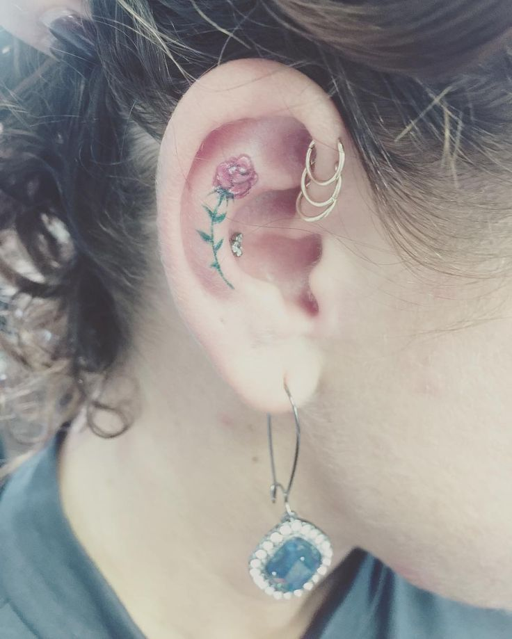 37 Ear Tattoos See Which Made Our 1: 21 Best Tattoos Images On Pinterest