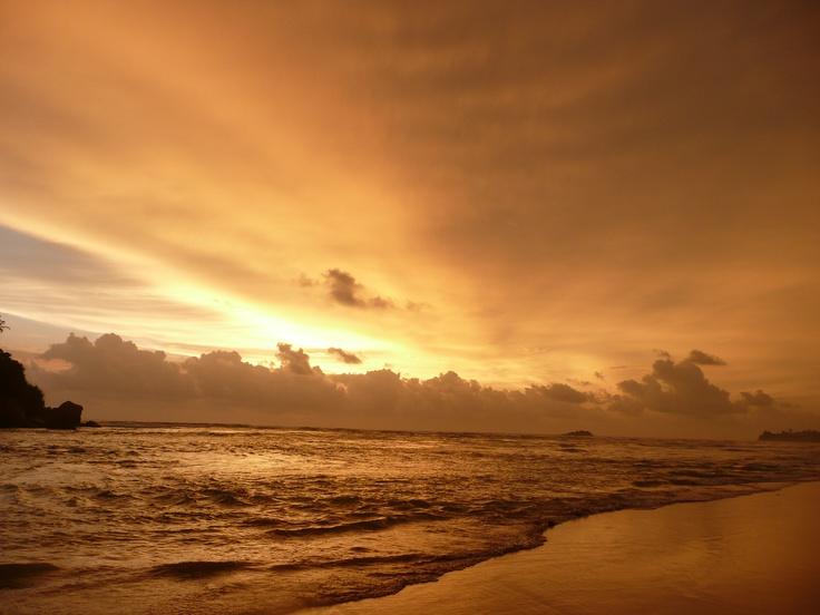 Sunset in Beruwela, Sri Lanka