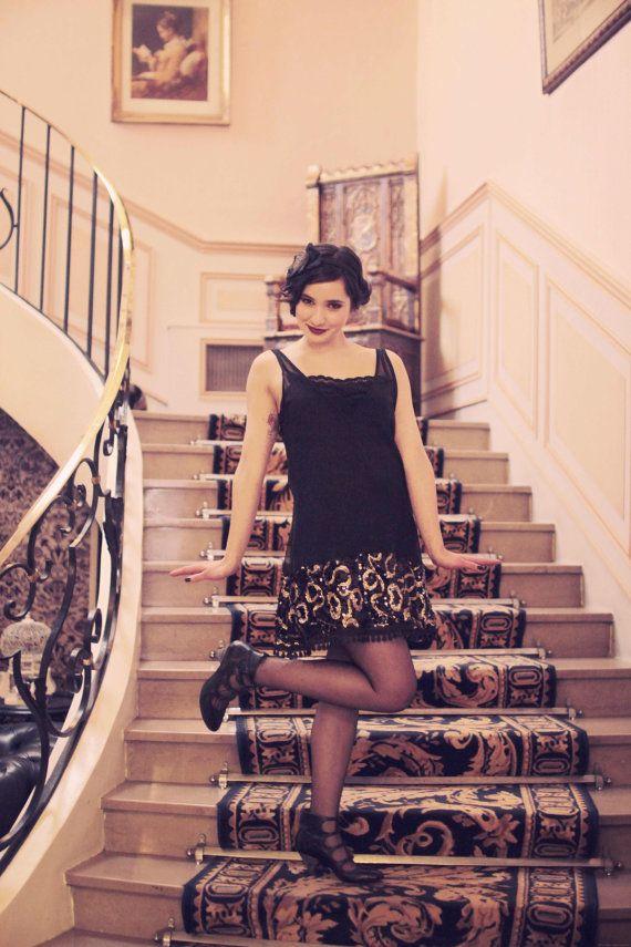 robe charleston flapper années 20 zawann par ZAWANNmadeinfrance, € ...
