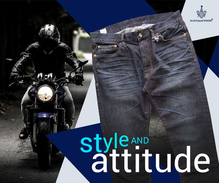 Be different in style and attitude. Try the Blue Line Regular jeans.