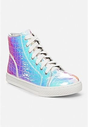 Holo Croc High Top Sneaker  d7b55ce8f