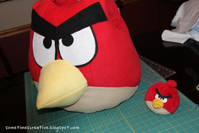 (Sometimes) Creative's Angry Birds Costume tutorial.