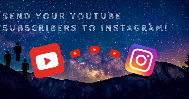 You are a YouTube star with many popular videos that have managed to pique the minds and captivate the hearts of many. They have earned you over a million subscribers and a Gold YouTube Play Button but what puzzles you is  why does your Instagram account not match that immense number? Is it ...
