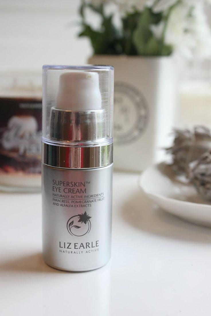 Liz Earle Superskin Eye Cream Review  http://uk.lizearle.com/superskin/superskin-eye-cream.html