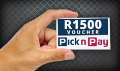 Win a R1,500 Pick n Pay voucher