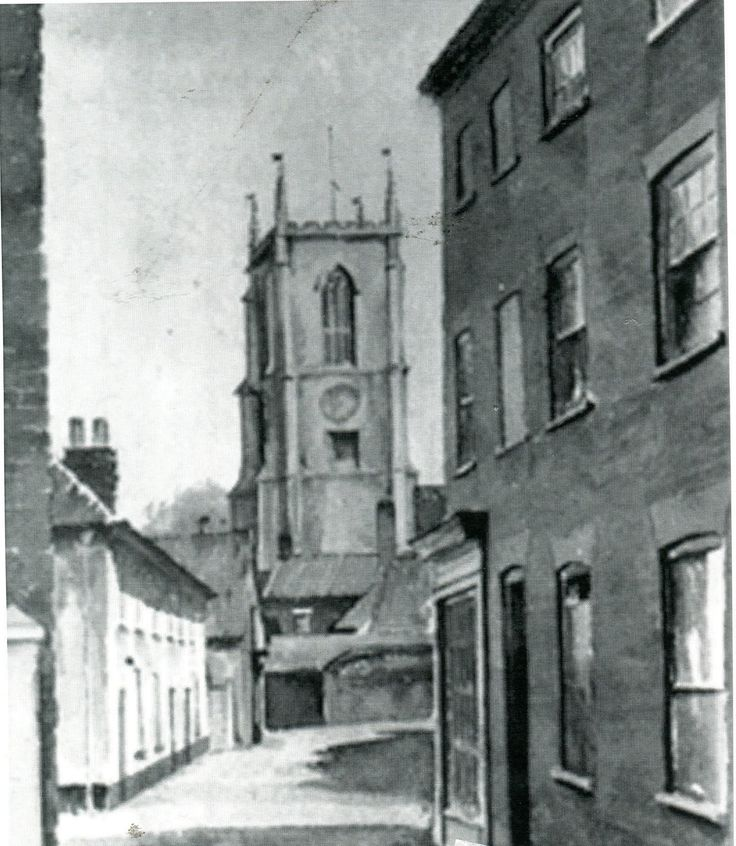 St.Peter's church, Fakenham, Norfolk in the early 1900s