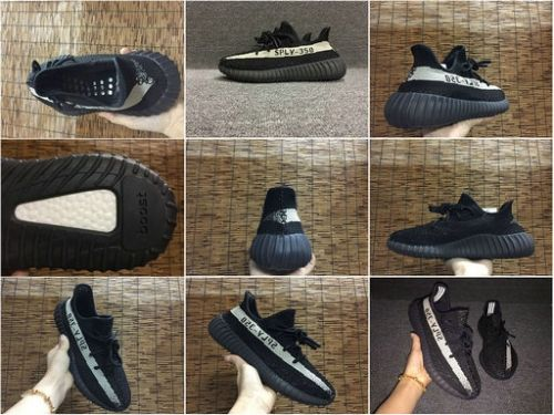 5699713d7af52 New Trainers Spring Summer Adidas Yeezy Boost 350 V2 Black White BY1604 Big  Size 36-48 US 13 14