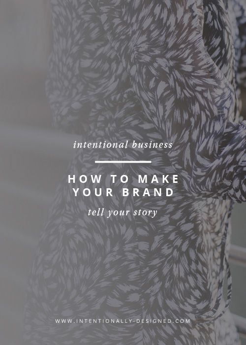 Brand designers always talk about how your brand should tell a story; how it should be a true and authentic representation of you so that you visually communicate it to the right audience. But the question is how do you do that?
