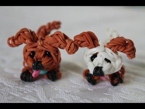 Rainbow Loom Nederlands, hondje/puppy - YouTube