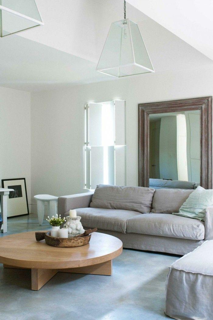 Die besten 25+ Sofa landhausstil Ideen auf Pinterest Graue - landhausstil wohnzimmer modern