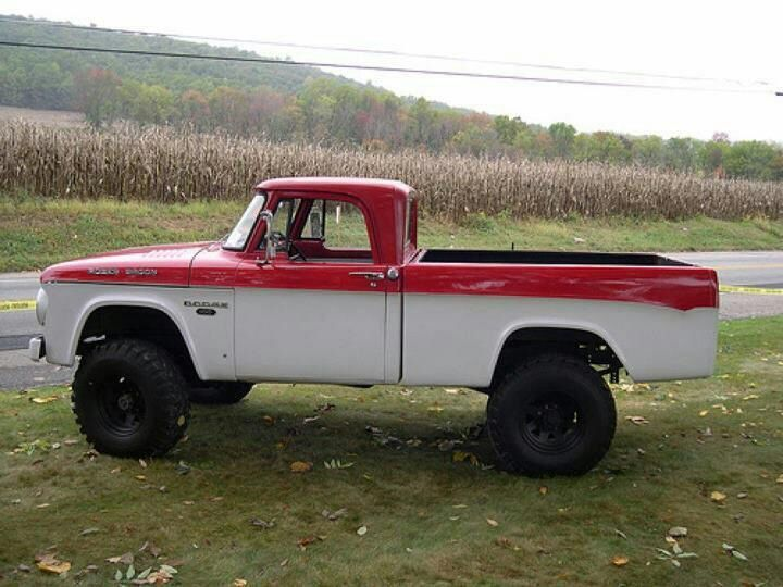 Early 60's Dodge Truck