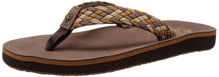 cobian Women's All Day Braided Bounce * Additional details at the pin image, click it  : Flip flops