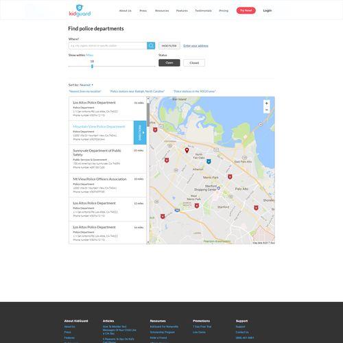 National Police Database for KidGuard.com