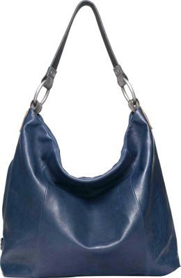 Ellington Handbags Sadie Glazed Hobo Blue - at Spare Parts