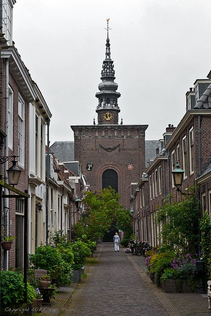 A quiet alley in Haarlem, Holland - loved this town!