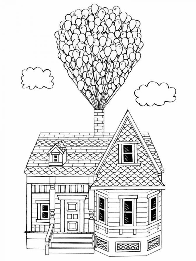 Disney Pixar Up Coloring Pages Coloring Pages Fabulous Up Coloring Pages Watch Up Pixar House Colouring Pages Coloring Pages Lego Coloring Pages