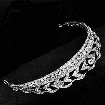 Bride Wedding Diamond Party Hair Accessories Cute Hairstyle Princess Imperial Crown Bridesmaid Simple Headband Headdress Chain Jewelry