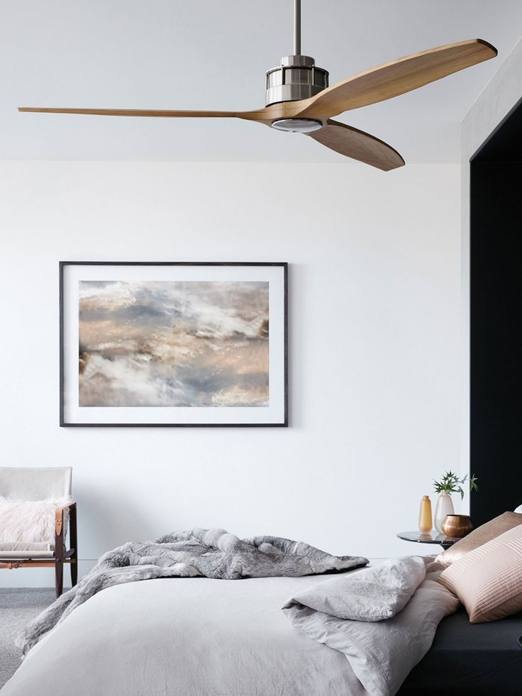 81 best decor wood ceiling fans images on pinterest wood beamed airfusion akmani dc fan in brushed chrometeak from beacon lighting for bedrooms aloadofball Image collections