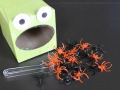 Feed the Frog - to practice counting, sorting, and fine motor skills