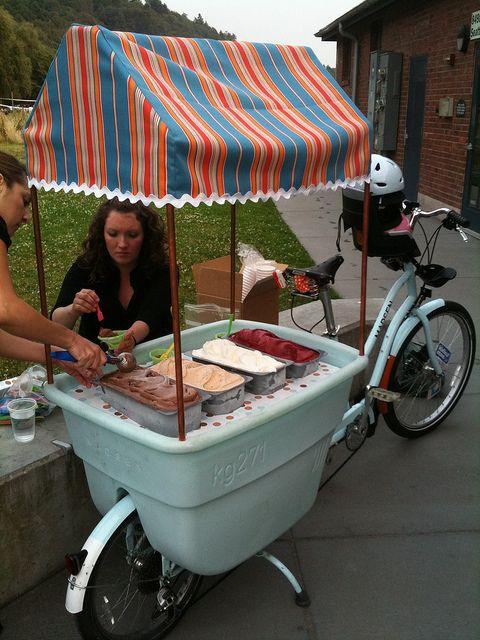 Pin By Zric Miller On Street Vendors Bike Food Bike Bike Cart