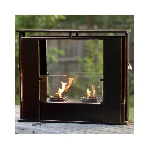 Outdoor Portable Fireplace Indoor Fire Pit Backyard Patio Heater Garden Gel Fuel #PortableFire