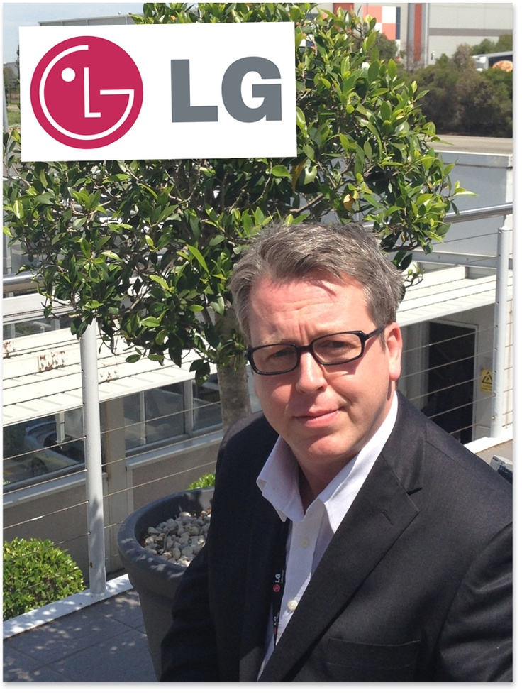 Phillip Anderson, head of public relations at LG Australia. With advice for PRs and tech journos. Read it... http://influencing.com.au/p/42345