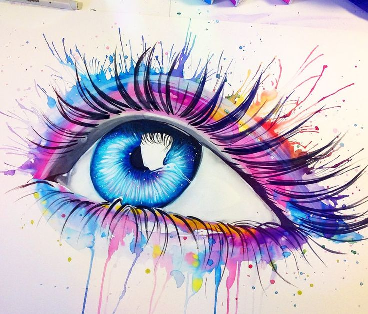 Eye Art Design : Best images about eyes on pinterest watercolors cool
