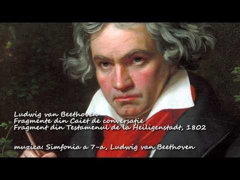 Ludwig van Beethoven, reflecţii, lectura Maia Martin, video nou HD