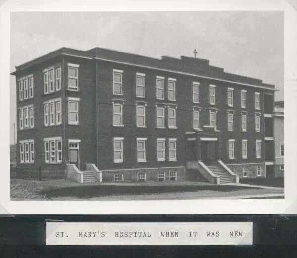 St. Mary's Hospital when it was new